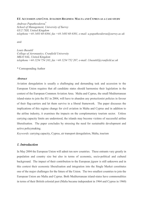 Papers in Proceedings of International Conferences - Results